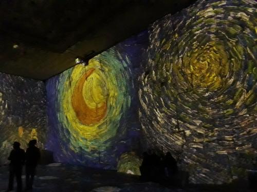 carrières de lumières,van gogh,art