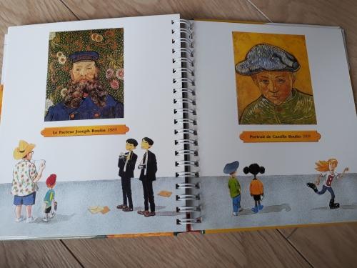 van gogh,livre,art