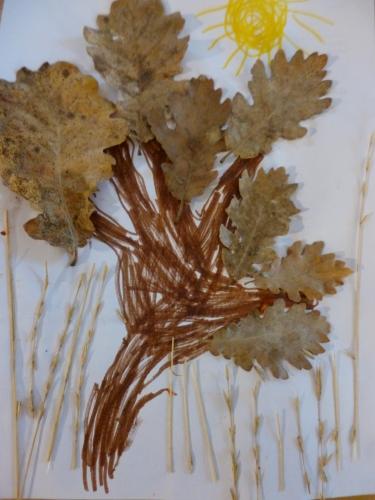 arbre,automne,bricolage enfant,land art,feuille