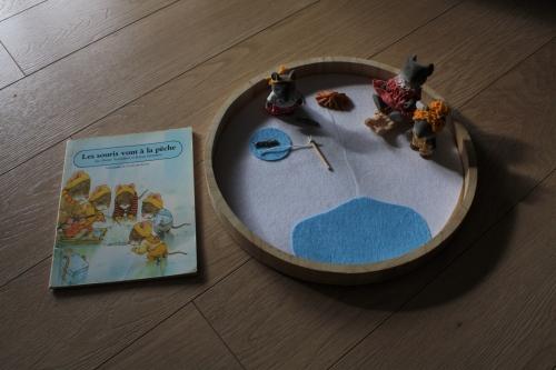 famille souris, Kazuo Iwamura,jouet
