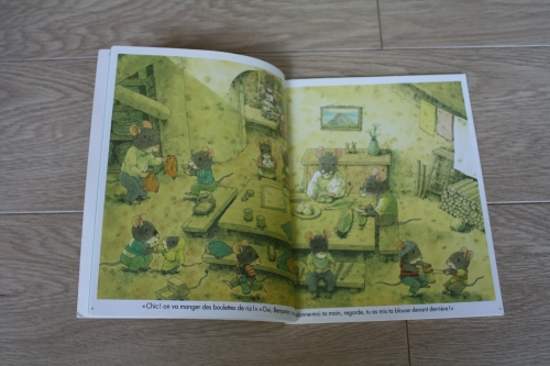 famille souris,livre,kazuo iwamura
