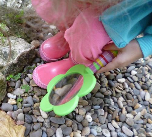 escargot,loupe,activité enfant,pluie