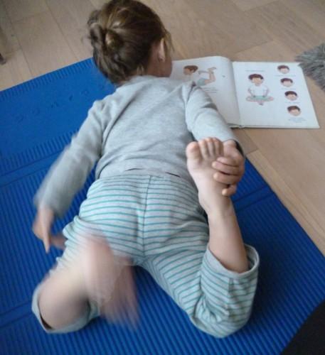 yoga,activité enfant