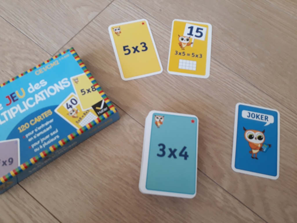 multiplication,apprentissage