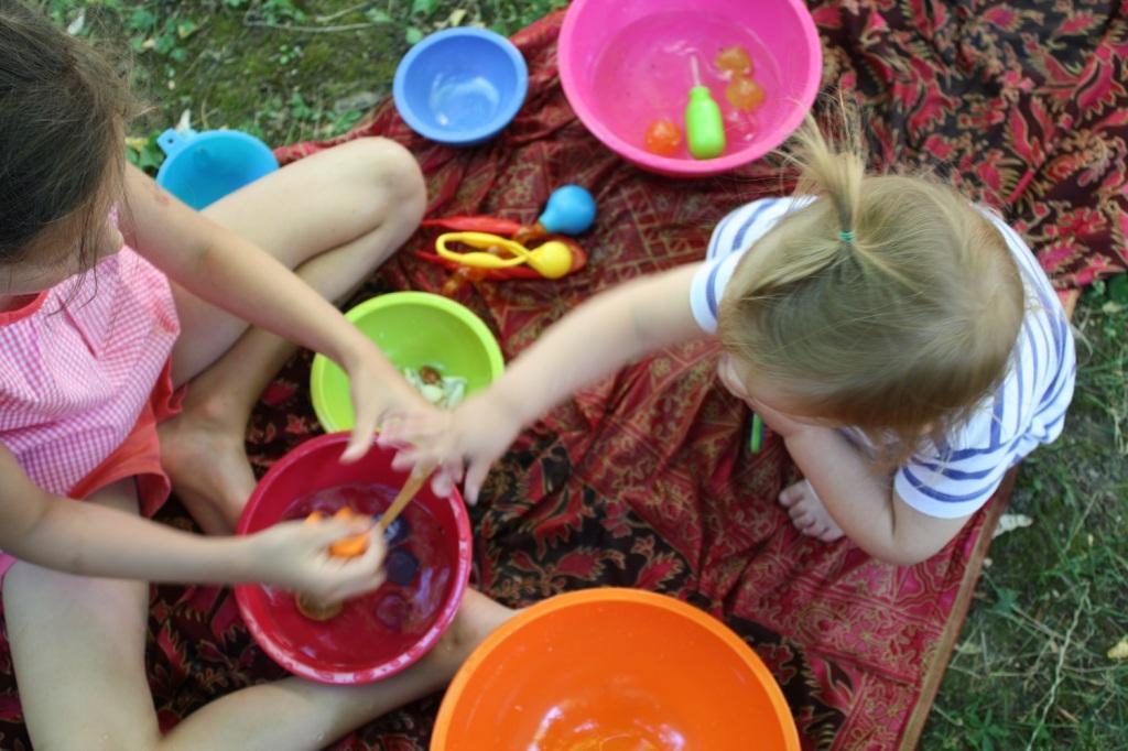 glaçons,activité sensorielle,montessori
