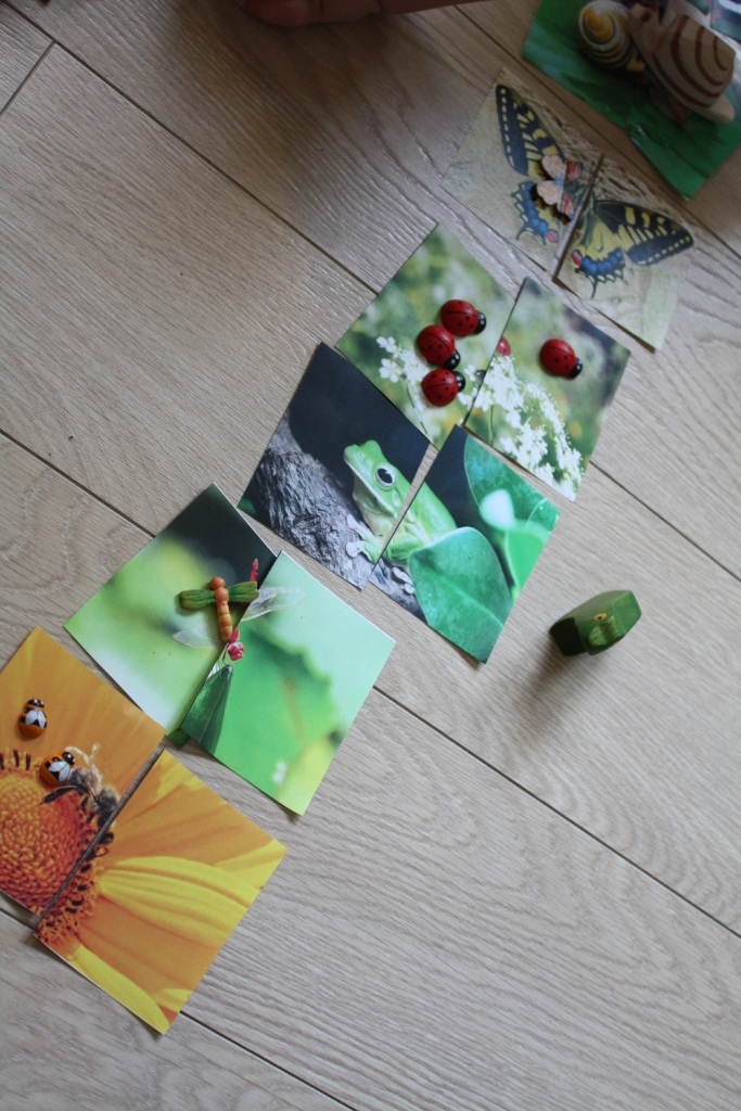 puzzle,jardin,petites bêtes,2-3 ans