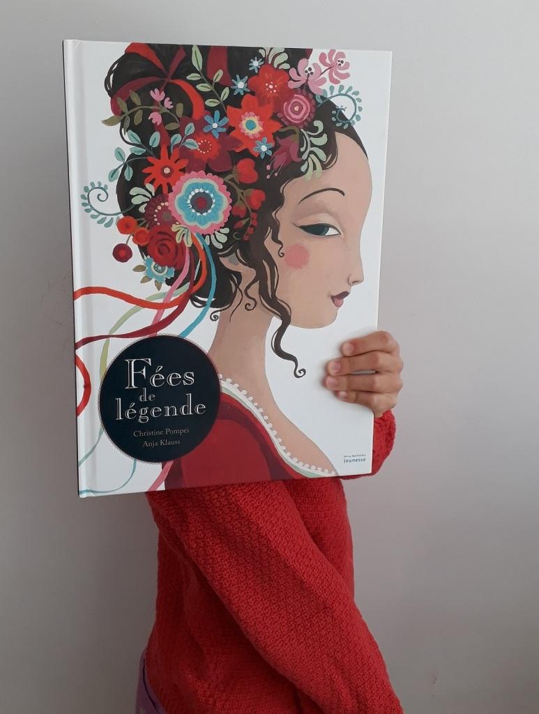 bookface livre enfant Fées de légende